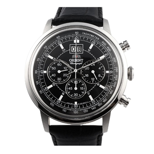Orient Gents Classic Military Chrono Big Date